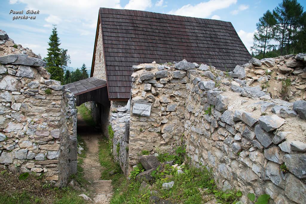 Sucha-Bela-Słowacki-Raj-Ruiny-klasztoru-kartuzów-5