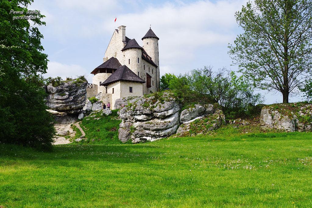 Rowerowy Szlak Orlich Gniazd. Zamek w Bobolicach
